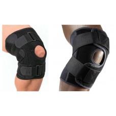 Adjustable Sport Dual-Spring Pressure Elastic Knee Support Pad Protect