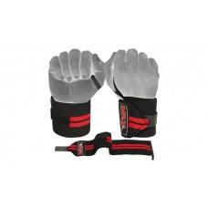 3pc Set Lifting Belt + Gloves + Wrist Bandage Gym Training Fitness Se