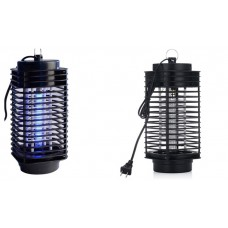 Mosquito Fly Bug Insect Zapper Killer + Trap Lamp Black Hot