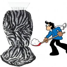Ice Scraper in Zebra Design Auto Shovel