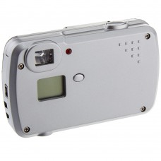 Silver Body Retro Style 3-IN-1 Digital Camera Video Camcorder Recorder