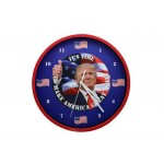 President Talking Clock Home Decor Wall Clock Historical Nation Victory
