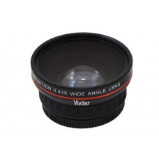0.43x Wide Angle Lens Macro Portion Focus Camera Zoom Distance Lens