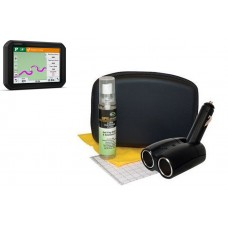 Auto Car Electronics Ideal GPS Executive Kit with Case Installation Accessories
