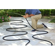 Gardening 50ft Expandable Lawn Watering Equipment Outdoor Hose Top Brass Bullet