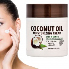 Spa Naturals Coconut Oil Moisturizing Cream Skin Care