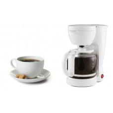 12-Cup Coffee Maker With removable Filter Basket